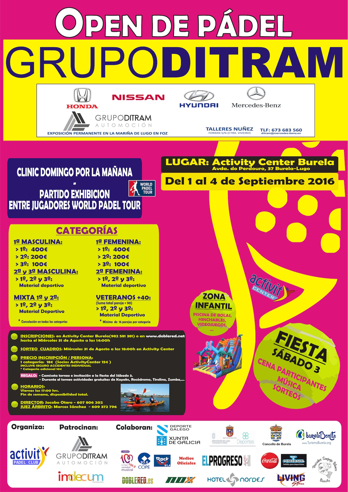 CARTEL ACTIVITYCENTER-TORNEO DITRAM 2016